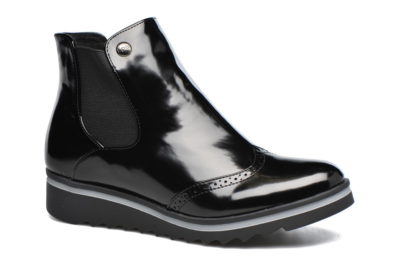 Bottines et boots Les P'tites Bombes Bénédicte Noir vue détail/paire