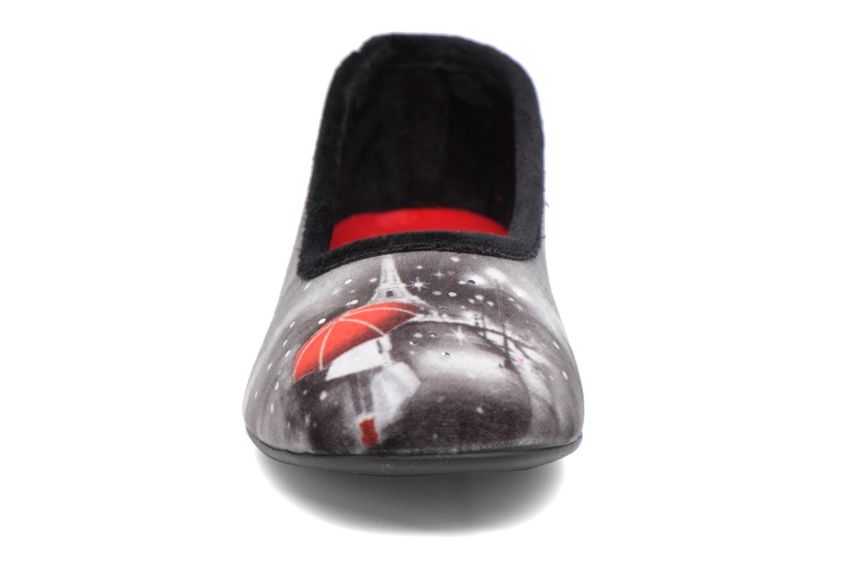 Chaussons La maison de l'espadrille Anna Noir vue portées chaussures