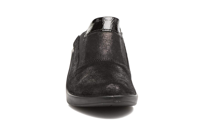 Mules et sabots Romika Mokassetta 257 Noir vue portées chaussures