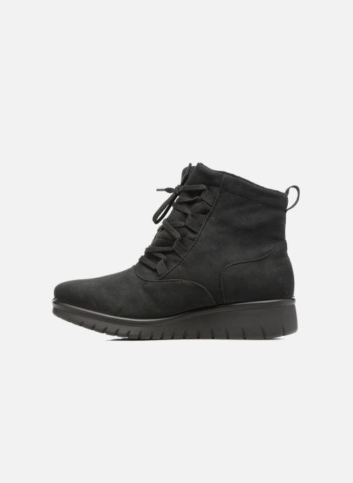 Boots en enkellaarsjes Romika Varese N08 Zwart voorkant