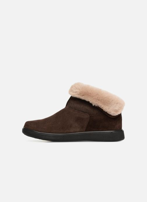Slippers Romika Gomera 02 Brown front view