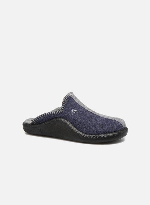 Hjemmesko Romika Mokasso 62 Blå detaljeret billede af skoene