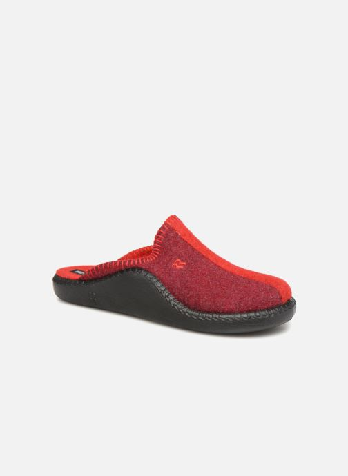 Slippers Romika Mokasso 62 Red detailed view/ Pair view