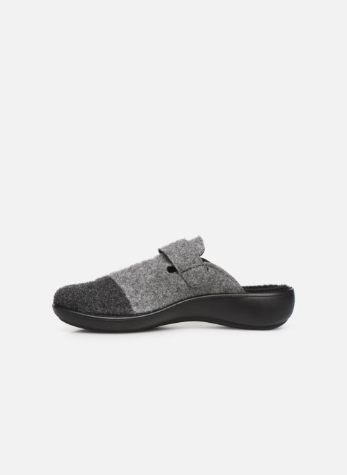 Chaussons Romika Ibiza Home 306 Gris vue face