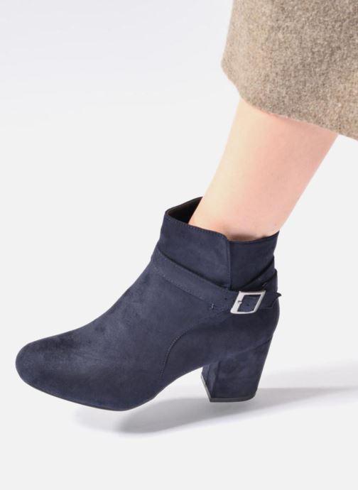 Stivaletti e tronchetti I Love Shoes VIKE Azzurro immagine dal basso