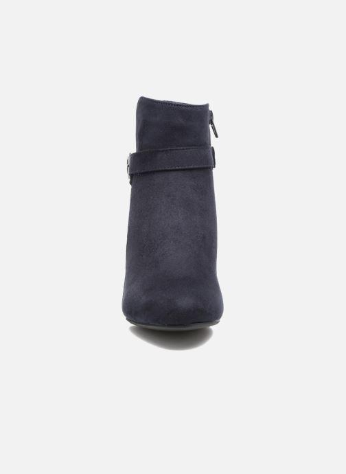 Stivaletti e tronchetti I Love Shoes VIKE Azzurro modello indossato