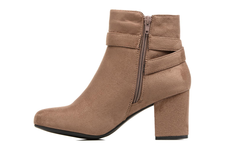 Botines  I Love Shoes VIKE Beige vista de frente
