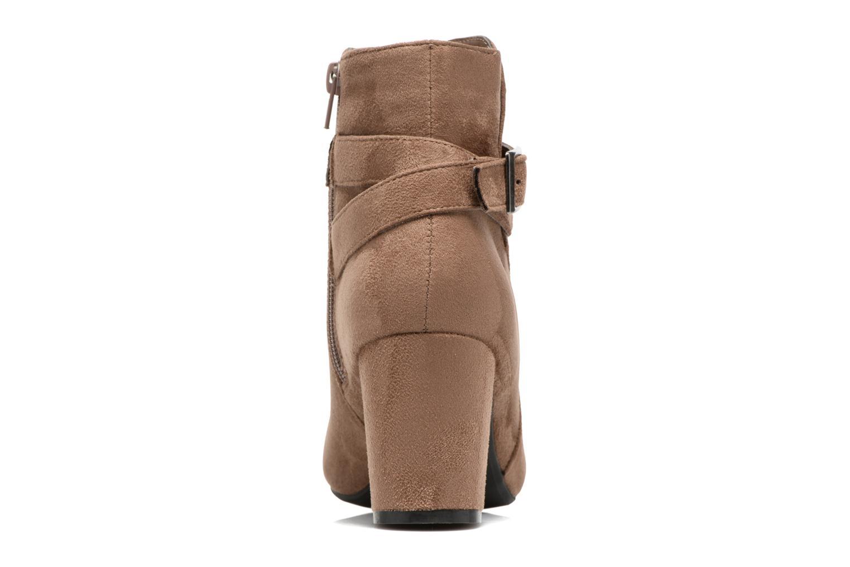 Botines  I Love Shoes VIKE Beige vista lateral derecha