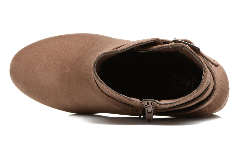 Botines  I Love Shoes VIKE Beige vista lateral izquierda