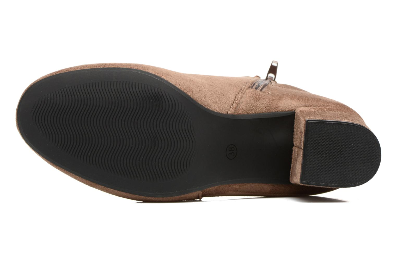Botines  I Love Shoes VIKE Beige vista de arriba