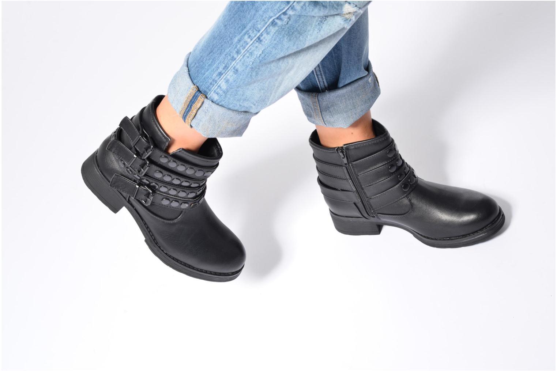 Bottines et boots I Love Shoes VILMA Noir vue bas / vue portée sac