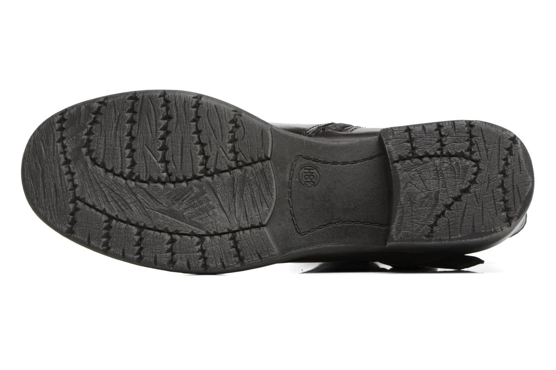 Bottines et boots Jana shoes Nikita Noir vue haut