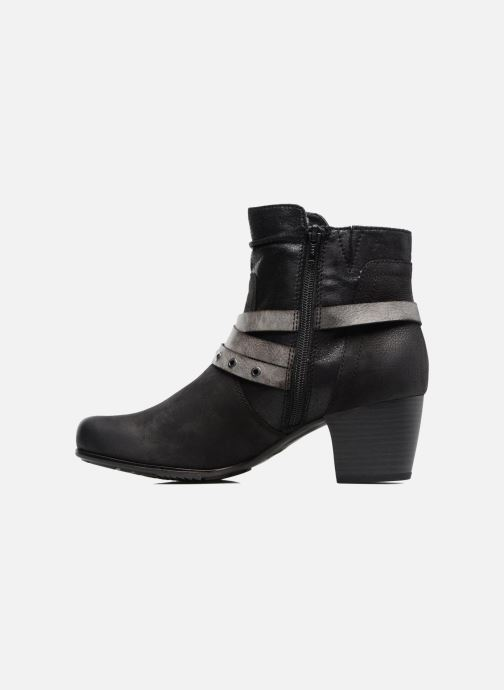Ankle boots Jana shoes Malika Black front view