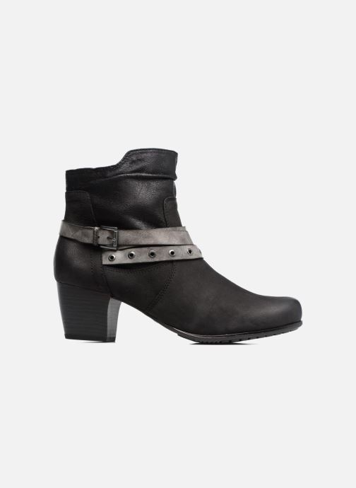 Ankle boots Jana shoes Malika Black back view