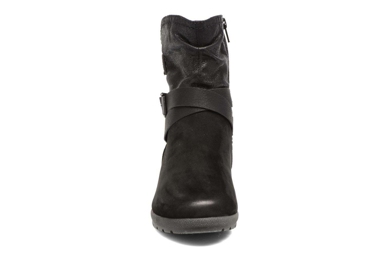 Botines  Jana shoes Ashley Negro vista del modelo