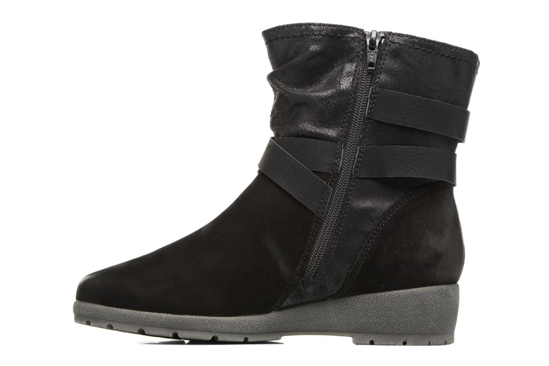 Bottines et boots Jana shoes Ashley Noir vue face