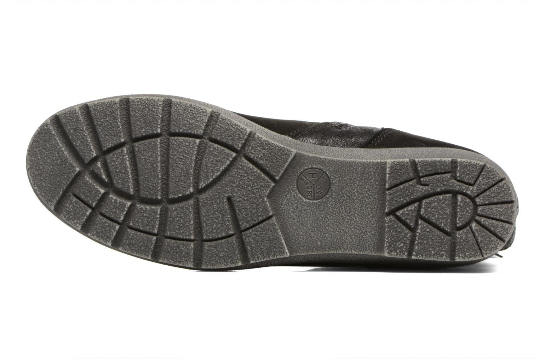 Bottines et boots Jana shoes Ashley Noir vue haut