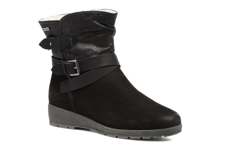 Bottines et boots Jana shoes Ashley Noir vue détail/paire