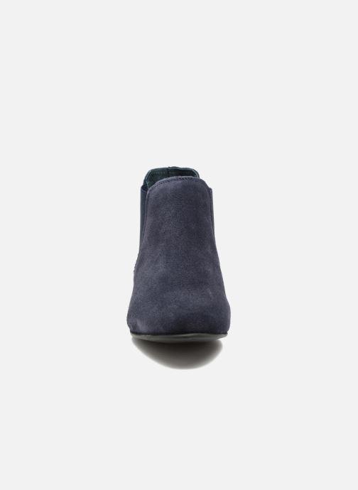 Bottines et boots Les Tropéziennes par M Belarbi Paradizo Bleu vue portées chaussures