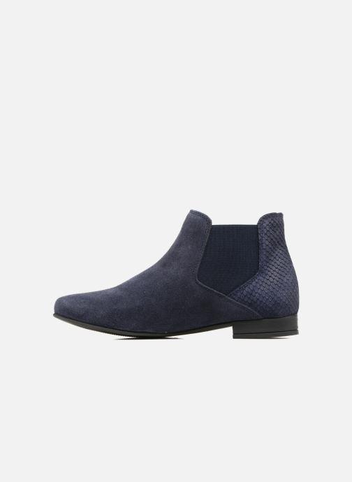 Bottines et boots Les Tropéziennes par M Belarbi Paradizo Bleu vue face