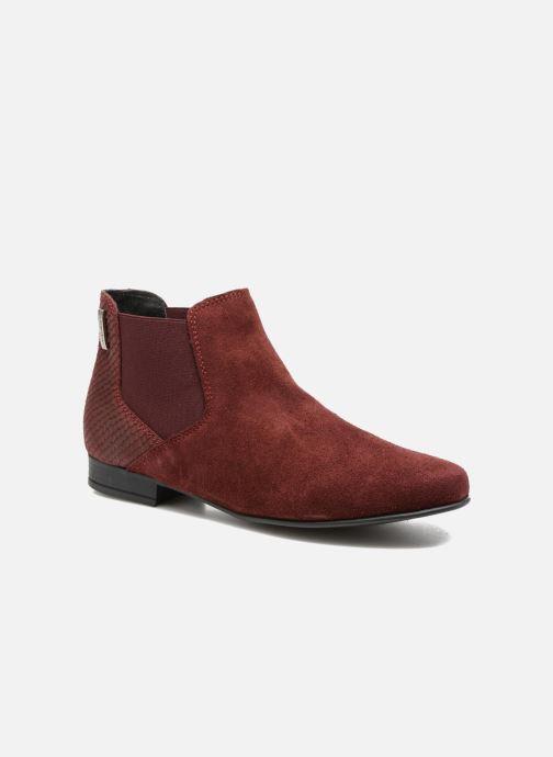 Ankle boots Les Tropéziennes par M Belarbi Paradizo Red detailed view/ Pair view