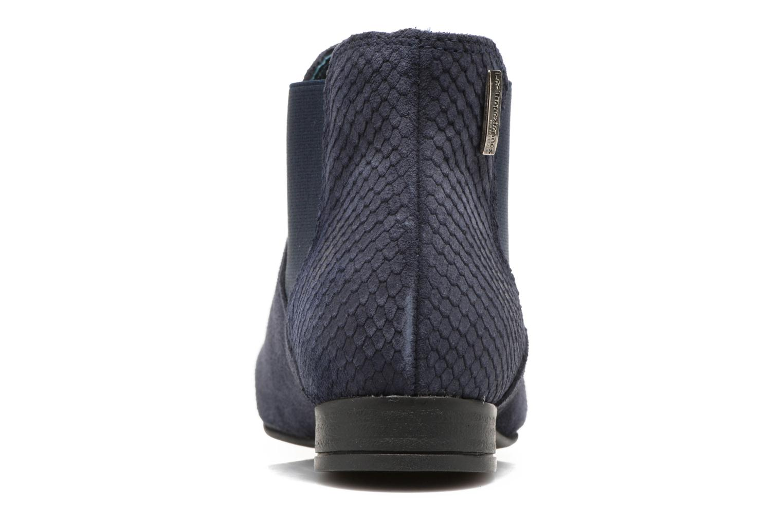 Bottines et boots Les Tropéziennes par M Belarbi Paradizo Bleu vue droite