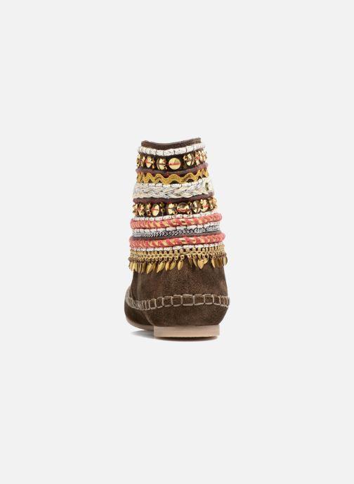 Bottines et boots Les Tropéziennes par M Belarbi Kan Marron vue droite