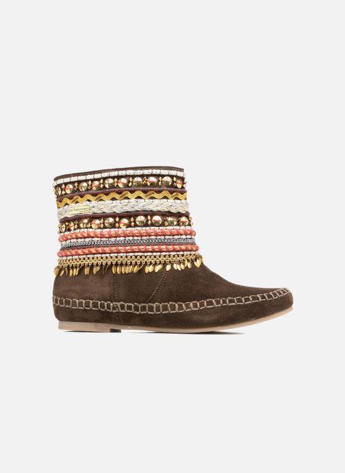 Ankle boots Les Tropéziennes par M Belarbi Kan Brown back view