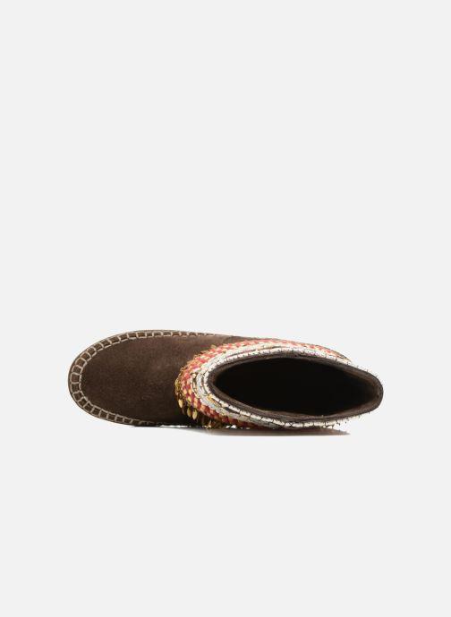 Bottines et boots Les Tropéziennes par M Belarbi Kan Marron vue gauche