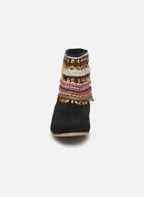 Bottines et boots Les Tropéziennes par M Belarbi Kan Noir vue portées chaussures
