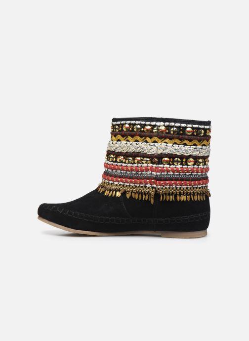 Bottines et boots Les Tropéziennes par M Belarbi Kan Noir vue face