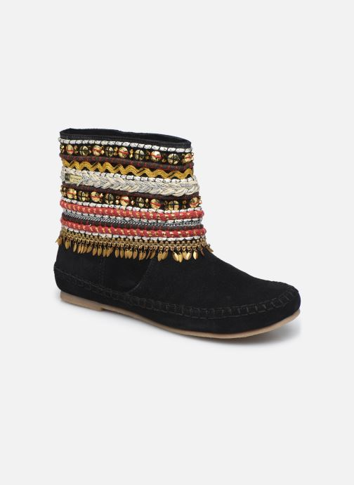 Bottines et boots Les Tropéziennes par M Belarbi Kan Noir vue détail/paire