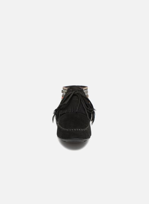 Bottines et boots Les Tropéziennes par M Belarbi Tomawok Noir vue portées chaussures