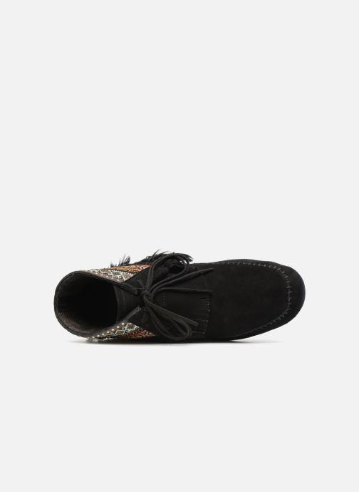 Bottines et boots Les Tropéziennes par M Belarbi Tomawok Noir vue gauche