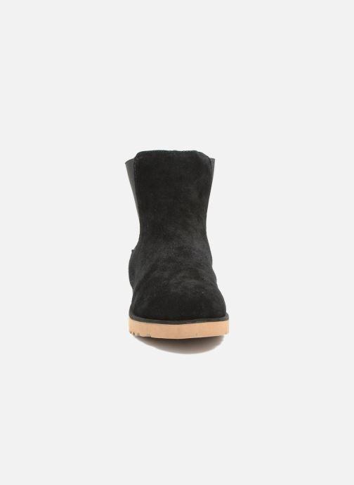 Bottines et boots Les Tropéziennes par M Belarbi Cirque Noir vue portées chaussures