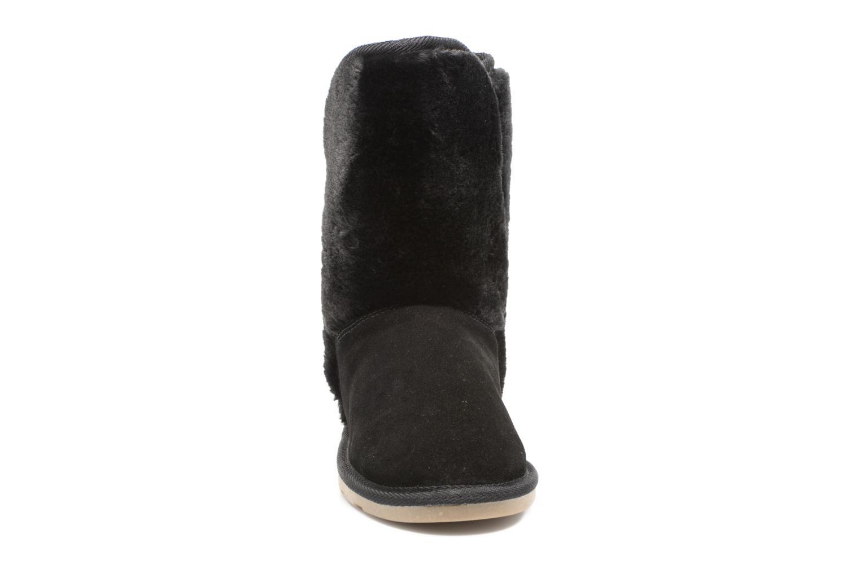 Bottes Les Tropéziennes par M Belarbi Chatel Noir vue portées chaussures