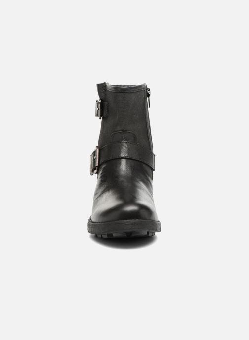 Bottines et boots Les Tropéziennes par M Belarbi Lakao Noir vue portées chaussures