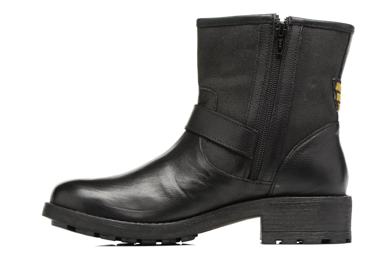 Bottines et boots Les Tropéziennes par M Belarbi Lakao Noir vue face