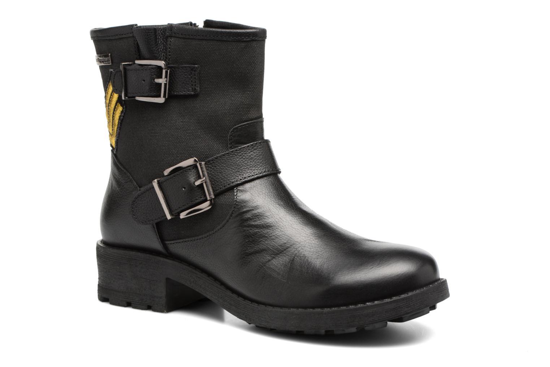Bottines et boots Les Tropéziennes par M Belarbi Lakao Noir vue détail/paire