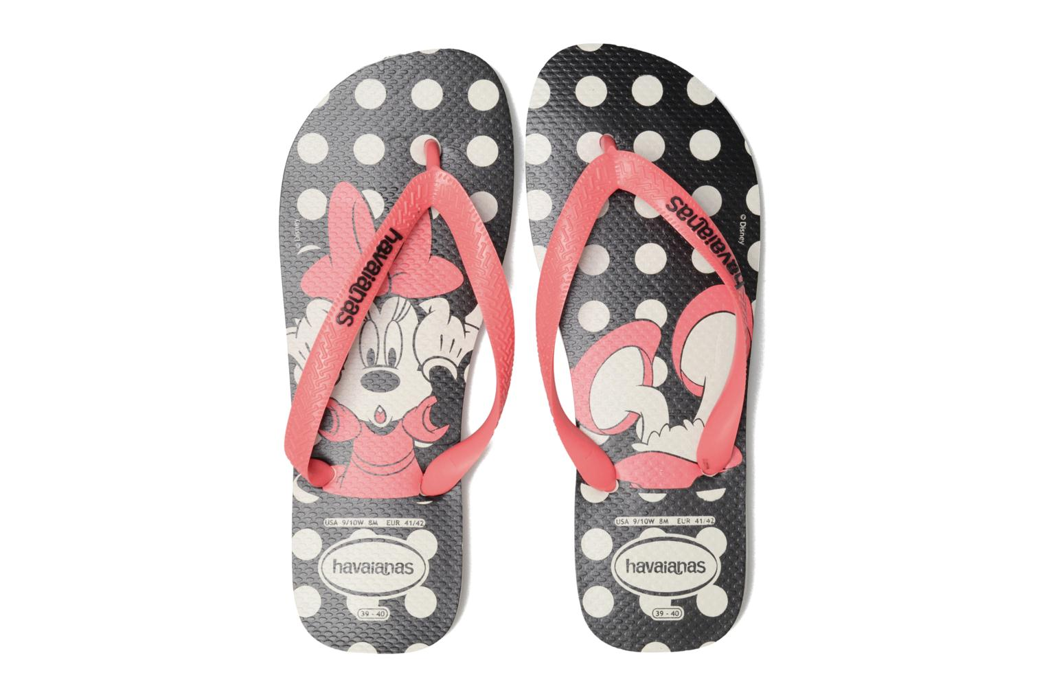 Tongs Havaianas HAV. DISNEY STYLISH Noir vue 3/4