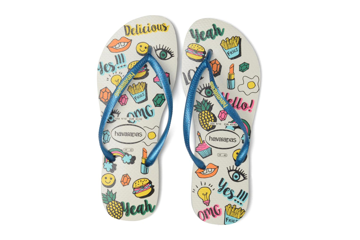 Chanclas Havaianas HAV. SLIM COOL Multicolor vista 3/4