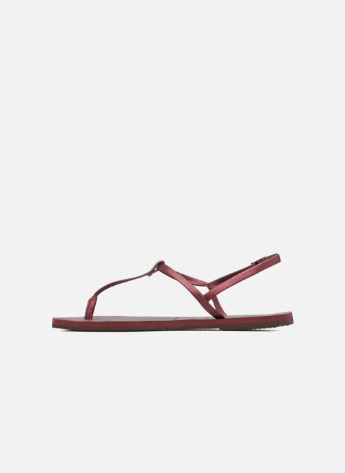 Sandali e scarpe aperte Havaianas You Riviera Bordò immagine frontale