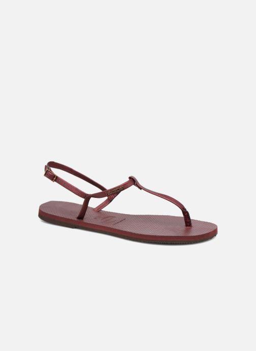 Sandali e scarpe aperte Havaianas You Riviera Bordò vedi dettaglio/paio
