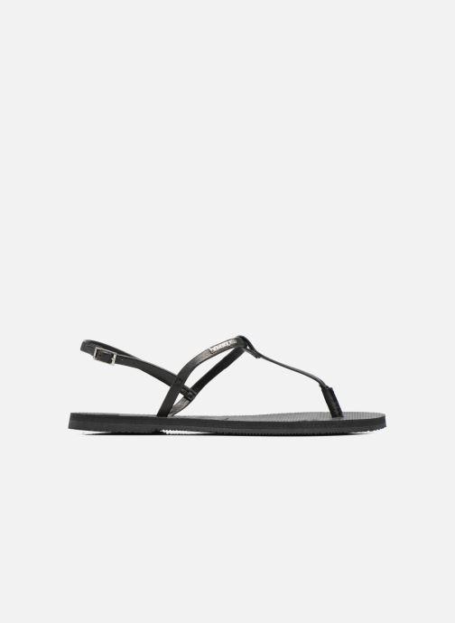 Sandalen Havaianas You Riviera schwarz ansicht von hinten