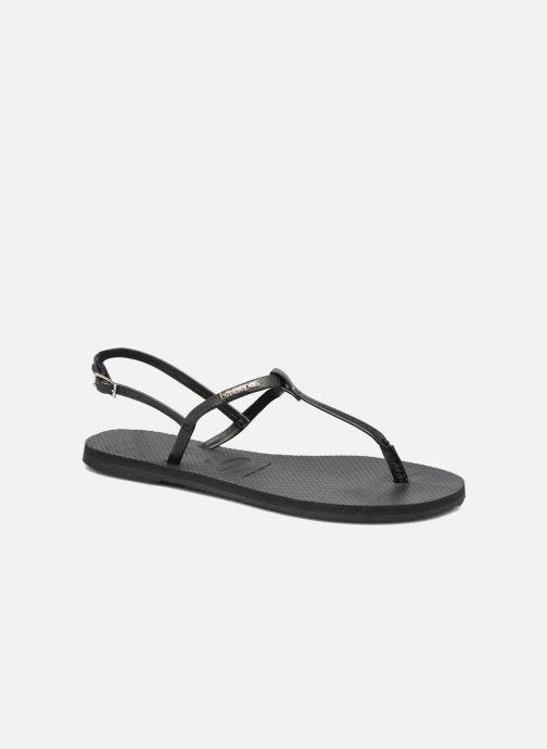 Sandalen Havaianas You Riviera schwarz detaillierte ansicht/modell