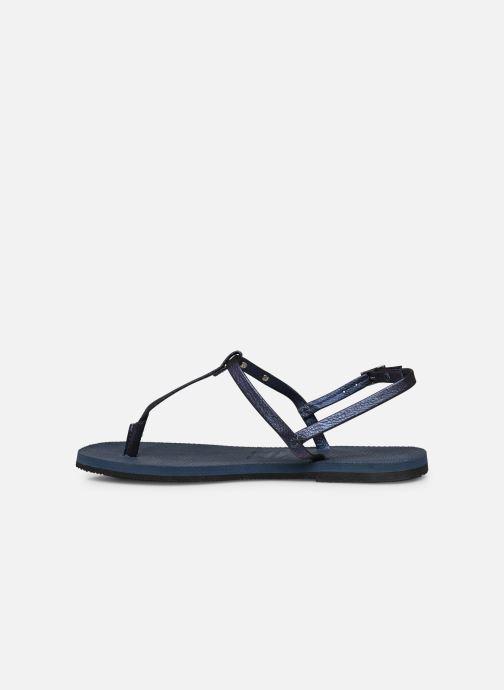 Sandalen Havaianas You Riviera blau ansicht von vorne