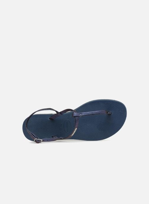 Sandalen Havaianas You Riviera Blauw links