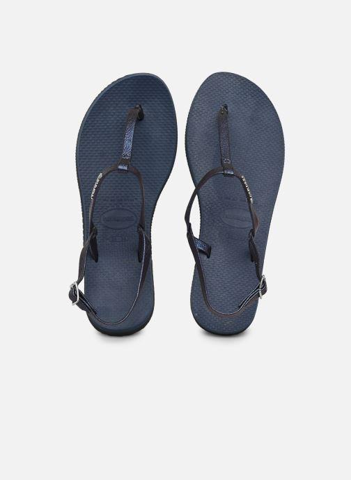 Sandalen Havaianas You Riviera blau detaillierte ansicht/modell