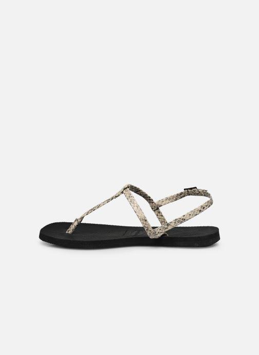 Sandali e scarpe aperte Havaianas You Riviera Beige immagine frontale