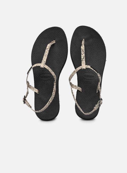 Sandali e scarpe aperte Havaianas You Riviera Beige vedi dettaglio/paio
